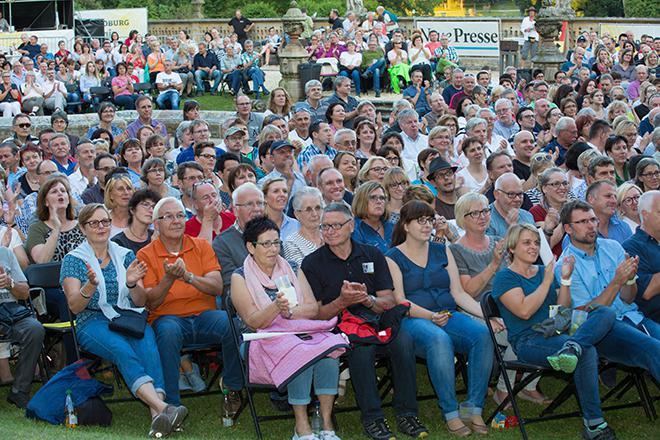 Publikum in Tambach