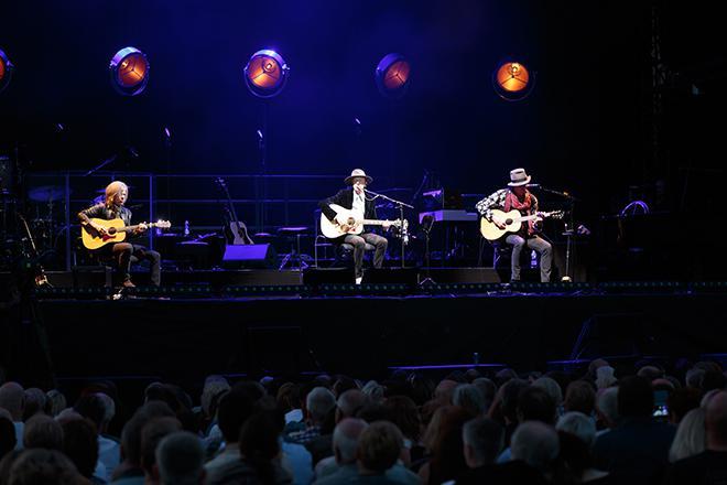 Westernhagen mit Musikern