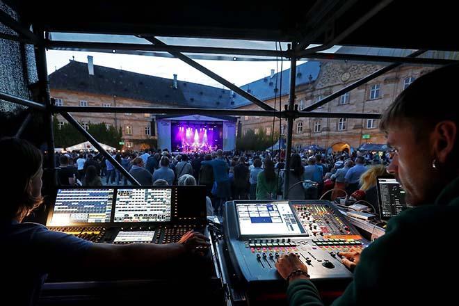 Veranstaltungstechnik von Schloss Tambach