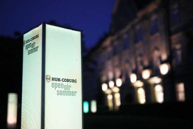 HUK-Coburg openairsommer-Aufsteller