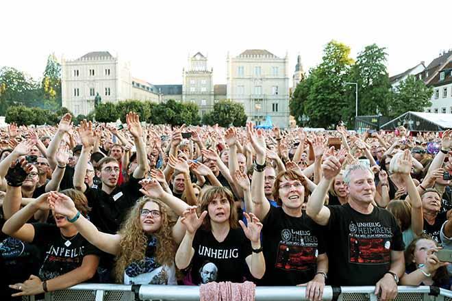Unheiligkonzert - Publikum