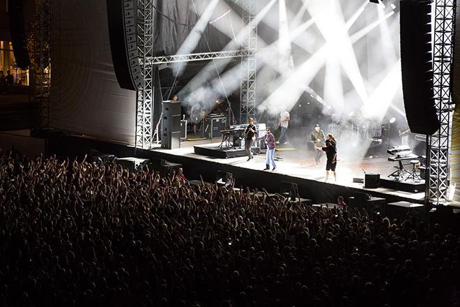 Konzert auf dem Schlossplatz