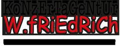 Logo Konzertagentur Friedrich