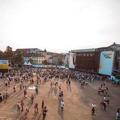 openairsommer Schlossplatz Coburg - Konzertflaeche